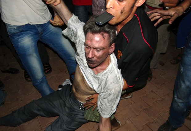Christopher Stevens – Expendable U.S. diplomat; Benghazi, Libya. His death was allowed to create outrage in the U.S. so hundreds of Marines and a permanent base could be set up in Benghazi.
